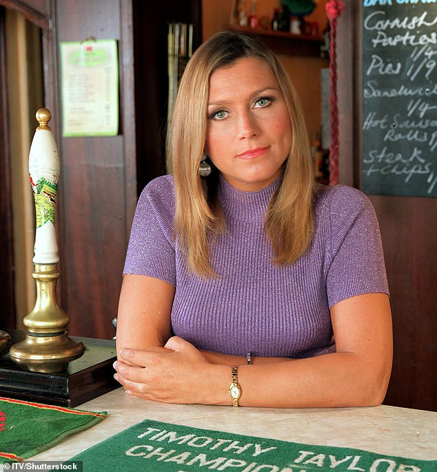 On screen: The actress, 51, is best known for her role asGina Ward in Heartbeat (pictured on the series)