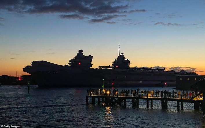 The CSG will carry out visits to 40 countries including India, Japan, South Korea and Singapore with more than 70 engagements including sailing alongside the French carrier Charles De Gaulle in the Mediterranean
