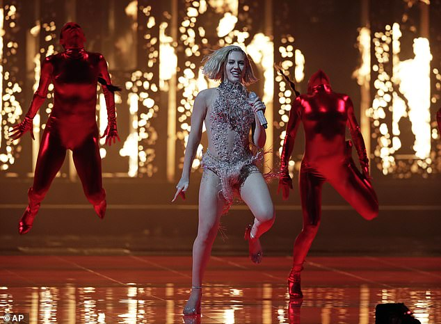 The contest kicked off tonight with a performance from Cyprus' Elena Tsagrinou who sang her dance song El Diablo
