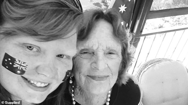 'You always brought out the crazy in me, fly high you beautiful angel, you will be forever missed', one friend wrote of Ms Golding (left)
