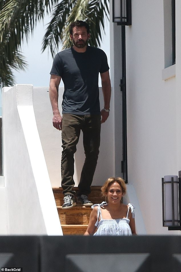 Nothing phony:Ben Affleck flew to the East Coast to be by Jennifer Lopez's side for some one-on-one time near her home in South Florida