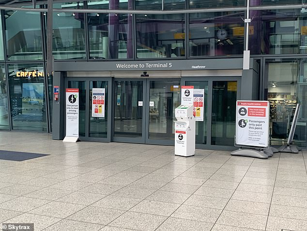 Heathrow's most recent Covid-19 audit by Skytrax evaluated over 175 safety protocols introduced by the airport in response to the Covid-19 pandemic