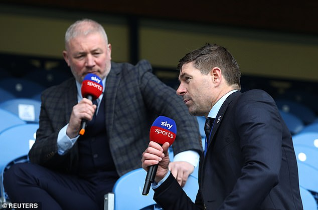 Fan favourite Ally McCoist (left) is on co-commentary duties for ITV during the tournament
