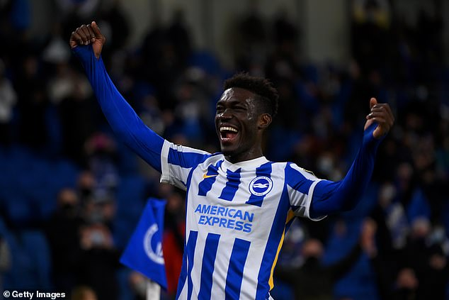 Brighton midfielder Yves Bissouma is attracting admiring glances from leading clubs
