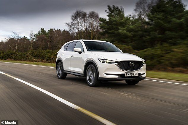 The Mazda CX-5 will keep almost 60% of their value after three years of ownership from new, says CAP HPI