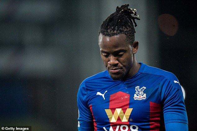 Michy Batshuayi scored just two goals in 18 appearances for Crystal Palace while on loan
