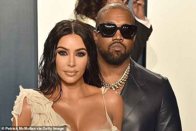 Split the difference:While, Kim, 40, has been embracing her single life on nights out with friends, Kanye has been largely staying out of the spotlight