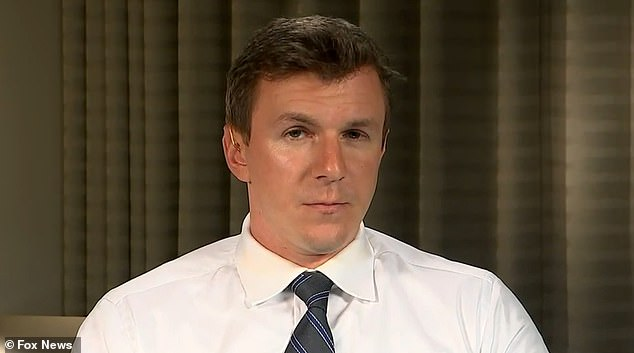 O'Keefe (above) appeared on Sean Hannity's show on Fox News on Monday to break the story