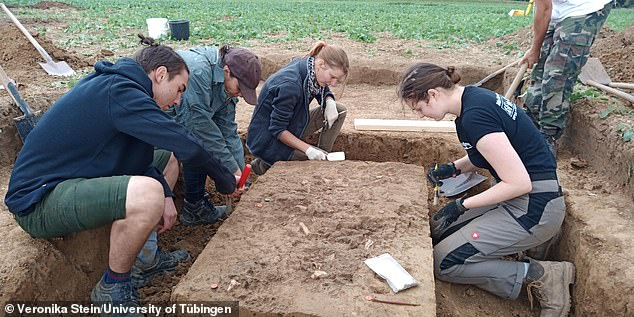 This type of burial is typical of the late Neolithic period in Central Europe, according to the team