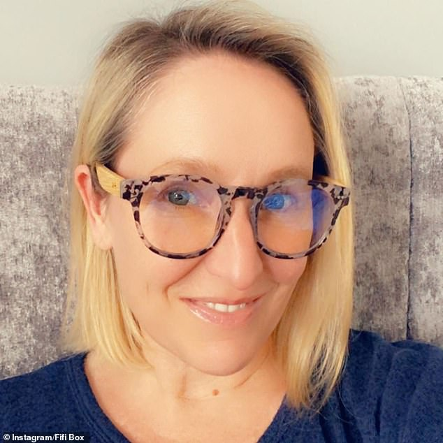 Taking the plunge: One incident saw Fifi and Marty travel to Hamilton Island for work, where she decided to go for a drunken swim while fully clothed