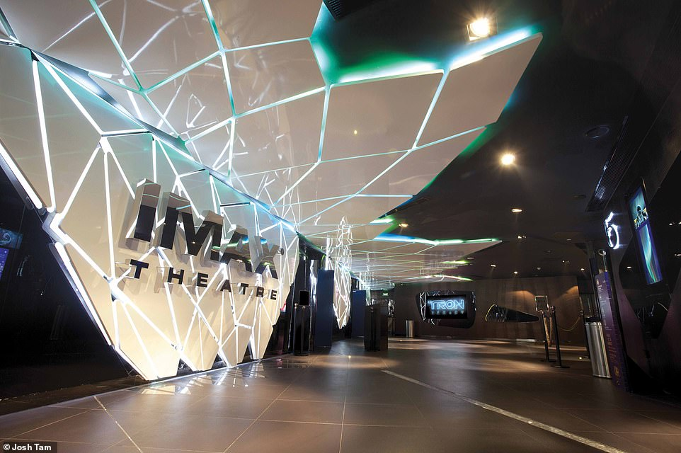 BEYOND FUTURE CINEMA, WUHAN, CHINA: According to Wong, a number of elements influenced the design of this cinema. These included the philosophies of Russian constructivism and Italian futurism, the sculptural works of artists like Russian Naum Gabo and Arik Levy from Tel Aviv, andthe imagery from recent sci-fi movies like Ex Machina by Alex Garland