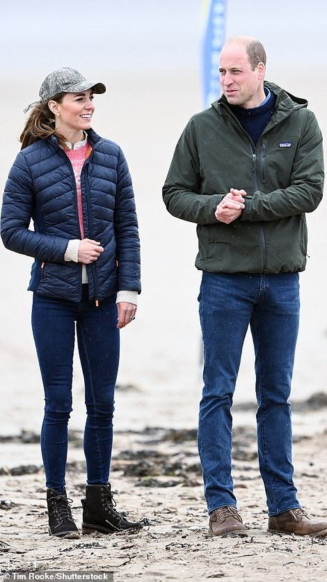 Ready to race: William and Kate
