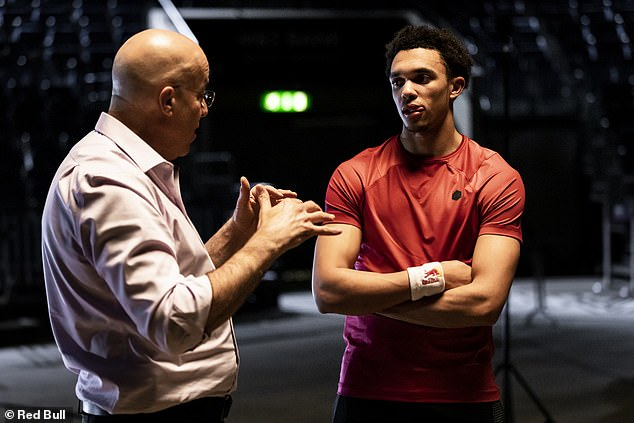 After the training Alexander-Arnold's vision is now as good as humanly possible – 20:10 vision