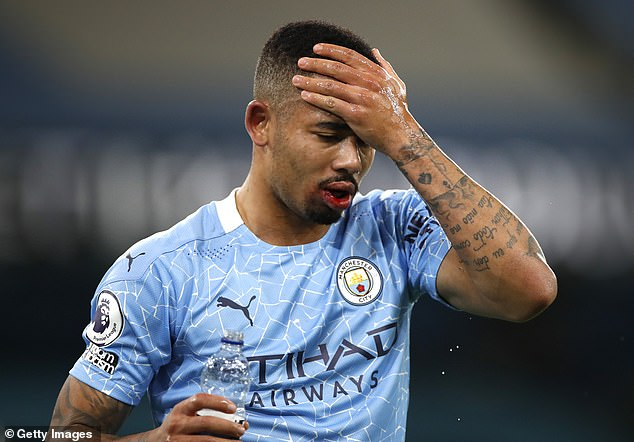 Gabriel Jesus has struggled to score prolifically and Guardiola has often left him out his team