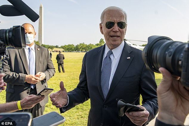 President Biden said the inability of CDC inspectors to access key sites in China hampered early investigations as he asked the intelligence community to redouble efforts in investigating how COVID-19 emerged