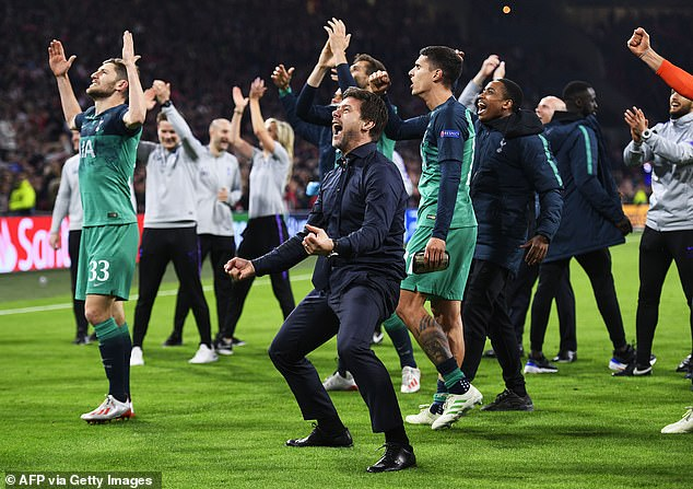 Tottenham beat Manchester City and Ajax on away goals to reach the Champions League final