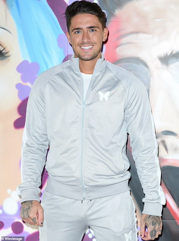 Charged: Earlier this month, it was revealed that Celebrity Big Brother winner and Georgia's ex Stephen Bear had been charged in connection with revenge porn allegations (pictured 2017)