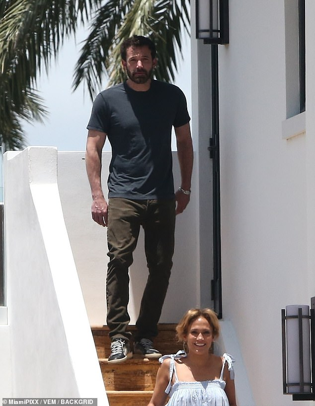 Alison Boshoff explores how Jennifer Lopez and Ben Affleck rekindled their romance as they enjoy a holiday in Miami (pictured)