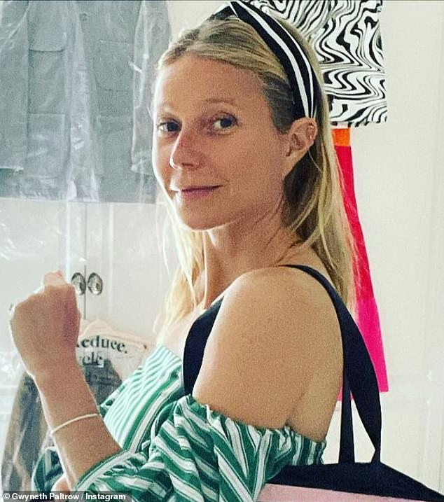 No paint:She posed makeup free for Instagram to make her announcement. 'I¿m extremely honored to announce today that I am joining @renttherunway¿s board of directors. The company has brilliantly disrupted the way we think about fashion and our closets- I am thrilled to be part of the ride ¿¿,' she said