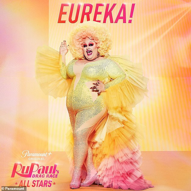 The self-described 'Elephant Queen': After Eureka O'Hara injured her leg during season nine, he famously made it all the way to runner-up in season 10