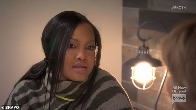 Candid conversation:'Absolutely,' Garcelle said as she admitted that she was punishing Lisa and was tired of always playing the nice girl