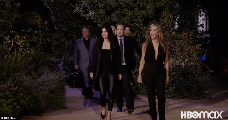Friends:What's clear from the one-hour-and-45-minute special is that these on-screen Friends have a deep and lasting friendship in real life that goes beyond the screen
