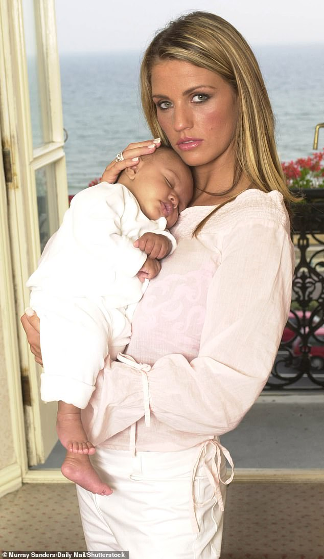That's my boy:Katie Price has marked her son Harvey's 19th birthday with a series of heartwarming throwback snaps