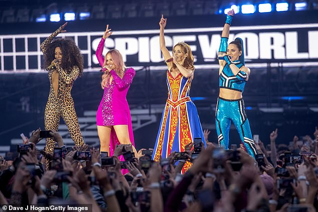 Profit:The 48-year-old singer's healthy profit comes despite the Spice Girls having had to cancel their upcoming 25th anniversary reunion tour due to the coronavirus pandemic