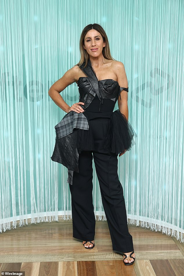 A look:Meanwhile, celebrity stylist Lana Wilkinson stopped traffic in a fashion forward ensemble by Toni Matičevski