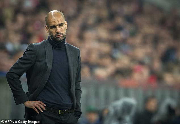 Guardiola looks deflated as his Bayern side slip to a 4-0 home defeat by Real Madrid in 2014
