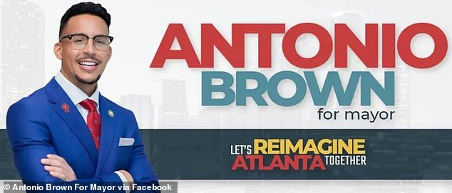 Antonio Brown is running for mayor on a platform of 'reimagining public safety'