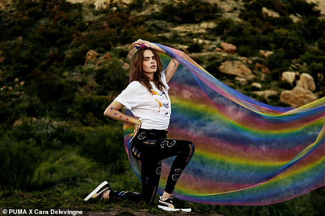 Challenges: Cara recently revealed she became suicidal as she struggled to come to terms with her sexuality