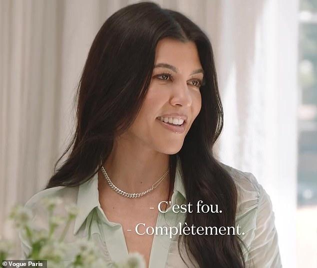 Parenting tips:Kourtney Kardashian talks shutting down son Mason's 'secret' TikTok and Instagram accounts in candid chat with Miranda Kerr for Vogue Paris released Thursday