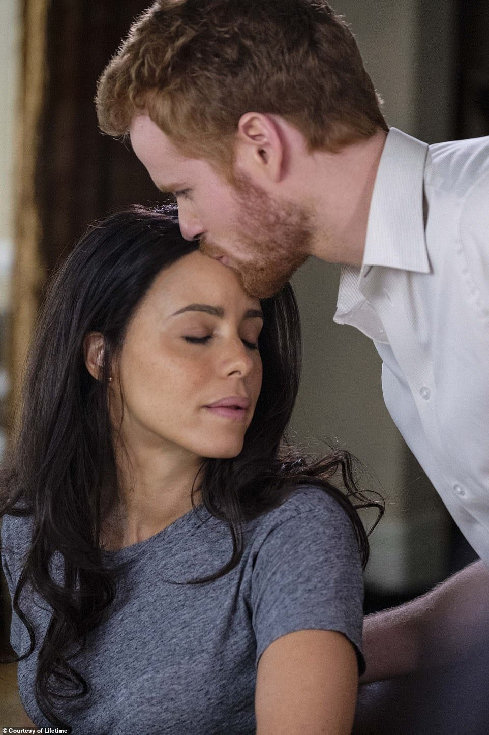 Debut: Dean and Morton are the third pair to play Harry and Meghan; Parisa Fitz-Henley and Murray Fraser debuted the roles for Lifetime in 2018's Harry & Meghan: A Royal Romance, whichcovered the early days of the couple's relationship