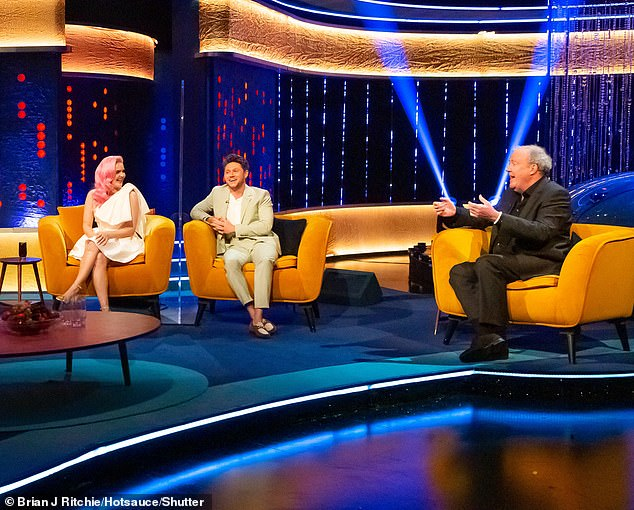 Appearing on this week's The Jonathan Ross Show, The Grand Tour presenter Jeremy said: 'Gwyneth Paltrow did a candle and said, 'This smells like my vagina'. [I've got one and it's called] 'This smells like my b******s'!; [pictured with Anne-Marie and Niall Horan]