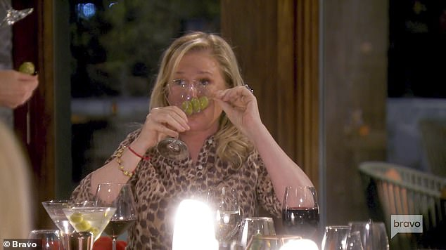 Cheers!Kathy Hilton and Crystal Kung Minkoff joined the Real Housewives of Beverly Hills this season. And Kathy made sure to enjoy life to the fullest during a dinner with her castmates on a girls trip, as seen in a preview for next weeks episode