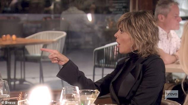 Complete disbelief:'Vodka, straight vodka,' Lisa said looking visibly shocked