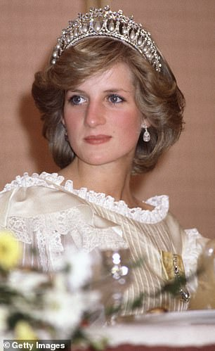 Royalty: One is known to the world as the People's Princess, while the other is considered to be the world's Princess of Pop (Diana, pictured in 1983)