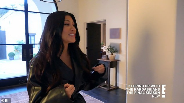 Wrong assumption:Kourtney randomly stopped by one day after that to bust Kendall without the other pieces, but to her surprise Kendall had everything