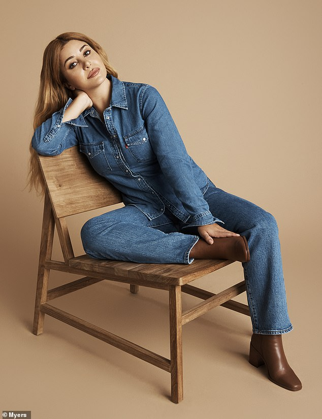 Icon: Martha has even made it to the big leagues by working with Myer on a denim campaign for Levi's
