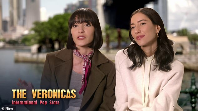 It's on! Celebrity Apprentice stars Lisa and Jessica Origliasso (pictured) have launched another scathing broadside against British billionaire Lord Alan Sugar