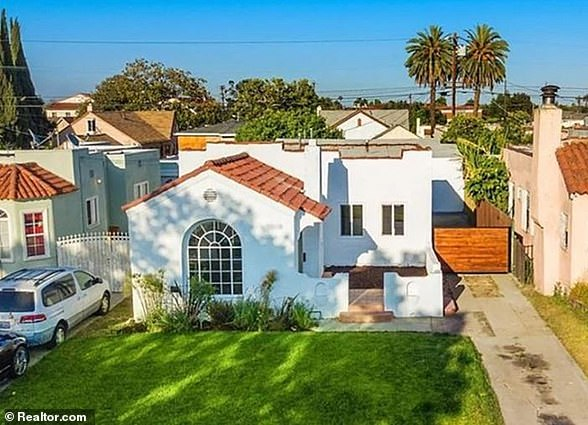 LOS ANGELES, CALIFORNIA: According to property records, Cullors also owns this LA home