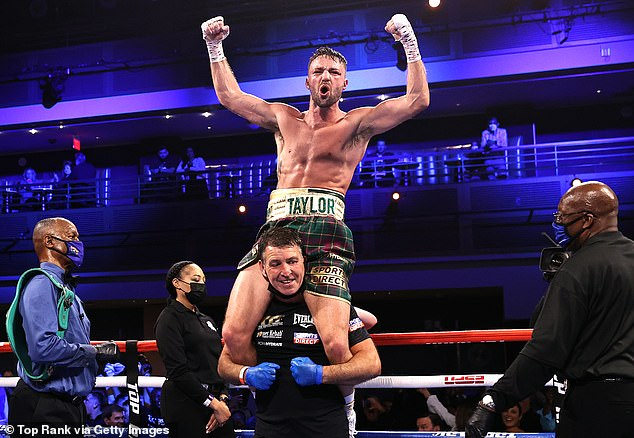 Josh Taylor is the undisputed light-welterweight champion after wiping-out Jose Ramirez