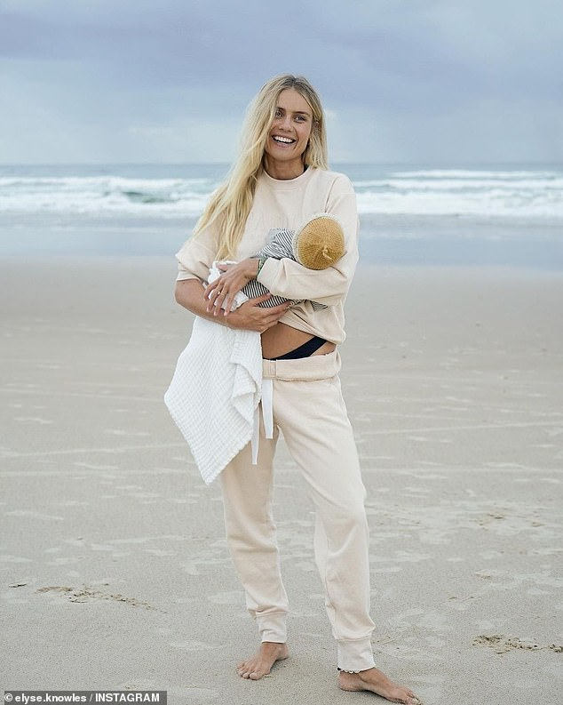Straying from home: She's also an ambassador for swimwear brand Seafolly Australia, a company which sends its designs to be manufactured in Chinese factories