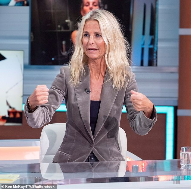 Advice:Sharing her thoughts on divorce, Ulrika said that while her own break-ups made her feel 'damaged' and 'flawed' she felt divorcees like her and Louise should feel emancipated by it