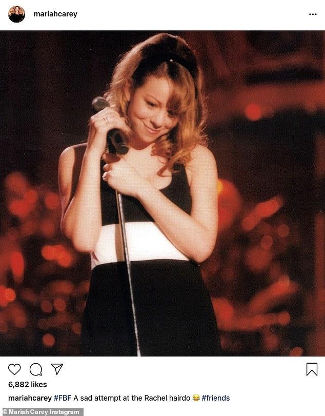 'Love it!' Jennifer Aniston responds to Mariah Carey's flashback of her 'sad attempt' of having 'The Rachel' hair 'do
