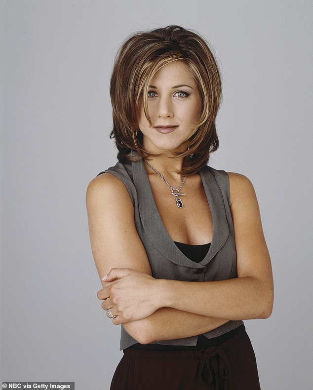 Iconic locks:'The Rachel' became known as a popular haircut, after Jennifer Aniston 's signature hairstyle as character Rachel Karen Green