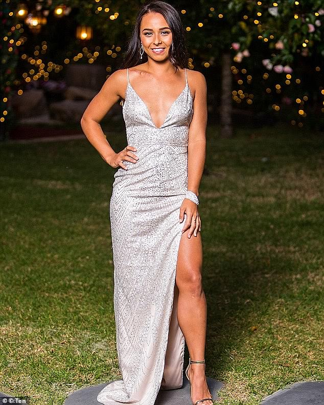 Who's vying for her heart: The forthcoming series will see both men and women competing for her affections. It will mark the first time globally that any of the Bachelor or Bachelorette franchises will feature a mixed-gender cast. Pictured is Brooke on The Bachelor in 2018