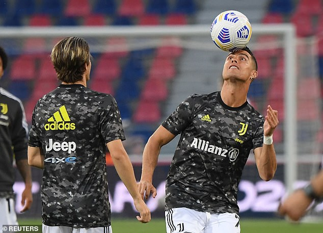 Ronaldo was benched for Juventus' season finale against Bologna in what may be his last game