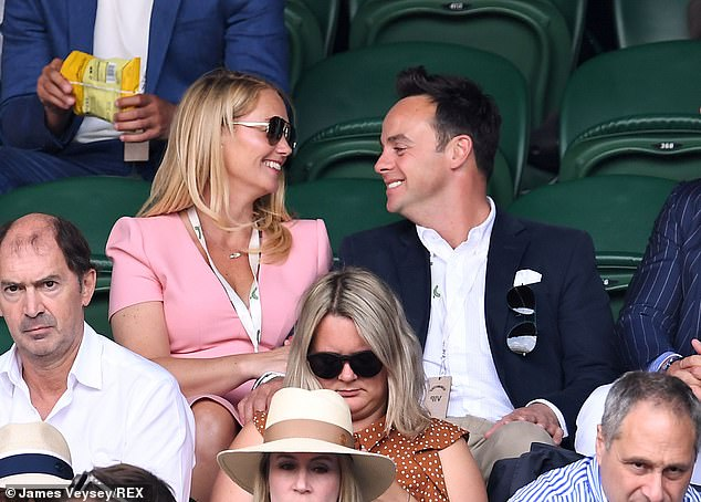 Wedding bells: Ant and Anne-Marie 'are set to wed in August in a low-key ceremony', it was reported last month (pictured in 2019)